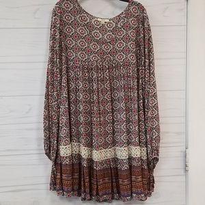 Kori America Printed Dress Size medium